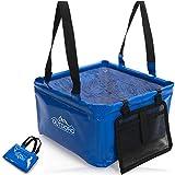 Outdoro Faltschüssel Groß - 16 Liter - Inklusive Zusatz-Tasche - Langlebiges Planen-Gewebe - Faltbare Waschschüssel für Camping und Outdoor