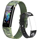 Dwfit Fitness Armband Kinder,Fitness Tracker mit Pulsmesser Fitness Uhr Kinder Aktivitätstracker Schrittzähler Smartwatch Sportuhr für Jungen Mädchen für Android iOS Smartphone