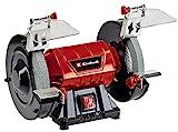 Einhell Doppelschleifer TC-BG 150 (max. 150 W, Ø150 x ø32 x 16 mm Schleifscheiben, Funkenschutz, Formkorrekturen und Anschliffe, inkl. Grob- und Feinschleifscheibe K36/K60)