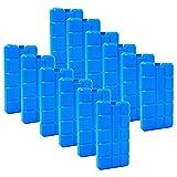 ToCi 6er Set Kühlakku mit je 200 ml   6 Blaue Kühlelemente für die Kühltasche oder Kühlbox