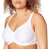 Triumph Damen Modern Soft+Cotton W01 Minimizer BH, Weiß (White 0003), (Herstellergröße: 95D)