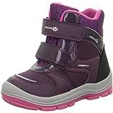 Geox Baby Mädchen Snowboots TRIVOR GIRL WPF, Kleinkinder Winterstiefel,Schneeschuhe,Thermostiefel,Moon Boots,PURPLE/FUCHSIA,21 EU / 4.5 UK Child