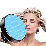 Ealicere Shampoo Haarbürste Reinigt Haarwurzeln Kopfmassagegerät Peeling und Schuppen Silikon Kopfhaut Massager Haarbürste für Männer Frauen Kinder und Haustiere Geeignet