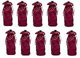 Weinflaschen-Geschenkhüllen, Party-Dekoration, Abendessen, Tischträger, Bar-Dekor (10 Weinflaschen)
