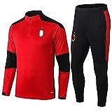 Fußball-Trainingsanzug, Wettkampfanzug mit langen Ärmeln, Fußball-Uniform Large