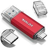 THKAILAR 128GB 256GB 512GB USB-C Flash-Laufwerk Hochgeschwindigkeits-USB 3.0-Speicherstick für Musik/TV/Video/Externe Datenspeicherung Speicherstick mit Stift für Smartphone/PC/Galaxy/MacBook Pro