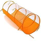 KIDIZ® Spieltunnel, Krabbeltunnel für Welpen und Kinder Spielhaus