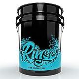 Nuke Guys - Wash Bucket - GritGuard 5 GAL (ca. 20 L) Wascheimer speziell für Zwischenspühlen des Waschhandschuhs - 3 Eimer Waschmethode - schonende Fahrzeugpflege - sanfte Handwäsche - schont Lack
