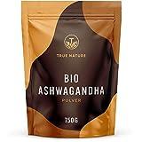 TRUE NATURE® Bio Ashwagandha Pulver (750g) - Recycelbarer Beutel - Indische Bio Schlafbeere (Withania Somnifera) aus kontrolliert biologischem Anbau - Vegan, Laborgeprüft, Deutsche Produktion