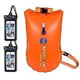 flintronic wasserdichte Tasche, Schulter-Trockentasche, Riemen Wasserdichter Sack für Boot/Angeln/Rafting/Schwimmen/Camping-Orange