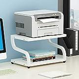 PUNCIA Office Desktop-Laser-Multifunktionsdrucker Kopierer Scanner Regalständer Rack mit Anti-Rutsch-Pads für Desktop-Organizer Ablagefach