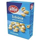 ültje Erdnüsse Faltschachtel, geröstet und gesalzen 10x 50g