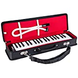 Mugig Melodica 37 Tasten, breite Palette von F bis F3, mannigfaltige verfügbare Musik, einfach zu spielen, geeignet für Unterricht sein, Aufführung, Klavier Erleuchtung