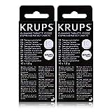 2 KRUPS Reinigungstabletten XS3000
