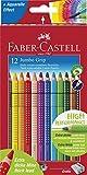 Faber-Castell 110912 - Farbstift Jumbo Grip Kartonetui 12er