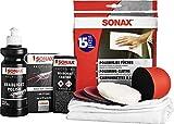 SONAX PROFILINE ScheinwerferAufbereitungsSet (325 ml) Aufbereitung von altersbedingt vergilbten und vermatteten Scheinwerfer-Abdeckungen aus Kunststoff | Art-Nr. 04057410