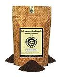 Uncle Spice schwarzer Knoblauch granuliert - 80g - Knoblauchpulver schwarz SUPERFOOD Black Garlic - fermentierter Knoblauch gemahlen - in schmackhafter Premium Qualität