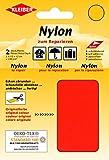 Kleiber + Co.GmbH 43052 Nylon-Flicken 100% Polyamid, neonorange, 10 x 12 cm, 2 Stück
