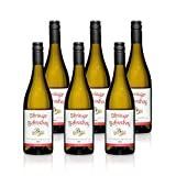 Weißburgunder trocken 2016   Weißwein aus Deutschland   Ihringer Fohrenberg WBK Glatt   Fruchtig und zart im Geschmack (6x 0,75l)