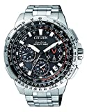 Citizen Herren Chronograph Quarz Uhr mit Titan Armband CC9020-54E
