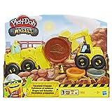 Play-Doh Wheels E4294EU4 - Bagger und Schaufler Knete, für fantasievolles und kreatives Spielen
