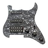 Ammoon 3 Lagige Schlagplatte Gitarre Geladen Humbucker Pickups Set for ST Elektrische Gitarre