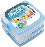 Dynamic Gear Kühlakku Kühlelemente für Brotdose Kühltasche Klein Kühlakkus Lang anhaltende Erkältung für Schule, Picknick, Camping, Angeln usw (6)