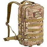 Highlander Militärischer Tactical Assault-Rucksack wasserdichte Recon 20 Liter-Rucksack mit Mehreren MOLLE-Befestigungspunkten für zusätzliches Zubehör und Ausrüstung (HMTC)
