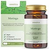 Moringa Kapseln - hochdosiert mit Moringa-Extrakt + Vitamin C (vegan, freiverkäuflich - PZN: 11482539)