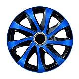Radzierblende DRIFT EXTRA blau/schwarz 14 Zoll 4er Set