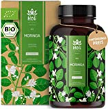 Holi Natural® BIO Moringa Kapseln   180 vegane Kapseln   1800mg je Tagesdosis   ECHTE Moringa Oleifera   Traditionell Ayurvedischer Wunderbaum   Hochdosiert & Laborgeprüft (180 Kapseln)