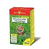 WOLF-Garten - 2-in-1: Unkrautvernichter plus Rasendünger SQ 50; 3840481