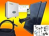 1200Watt Balkonkraftwerk MIT MONTAGEMATERIAL FLACHDACH mit Stockschrauben/Solaranlage mit Internetüberwachung bau-tech Solarenergie GmbH