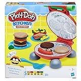 Hasbro Play-Doh Burger Party, Knete für fantasievolles und kreatives Spielen