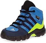 adidas Jungen Unisex-Kinder Terrex Mid GTX Trekking- & Wanderstiefel, Blau (Azretr/Maruni/Limsol 000), 23 EU