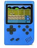 O RLY 500 in 1 Handheld Spielkonsole Retro FC Plus Konsole 500 Retro Classic Spiel, 3 Zoll Bildschirm Mini Videospiel-Spieler (Blau)
