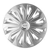 Michelin 92003 Radzierblenden 40,6 cm / 16 Zoll Typ Monique Silber mit Chromring, Set of 4
