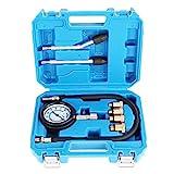 TecPo Kompressionstester für Benzin Motor 0-20 Bar Kompression Prüfer messen Werkzeug