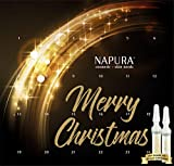 NAPURA Ampullen-Kur AKTION, Kosmetik-Set | Limitierte Edition mit Goldampulle | straffend & pflegend | Anti-Aging, Beauty-Set | 24 x 2 ml