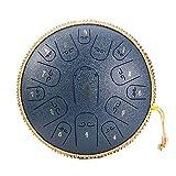 ATRNA Trommel 15 Notes Stahl Zunge Drum, Stimmts Percussion Instrument, Handpan Drum Mit Tasche, Mallets, Fingerpicks