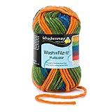 Schachenmayr Filzgarne Schachenmayr Wash+Filz-It! Multicolor, 50G exotic stripes