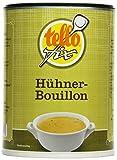 tellofix Hühner-Bouillon - Vielseitige Geflügel-Brühe, als Universal-Würzmittel zum Verfeinern einsetzbar - kalorienarm - 1 x 500 g