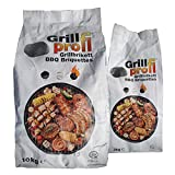 Grillprofi Premium Grillbriketts 10kg – 20kg Grillkohle Grill Brikett Kohlebriketts Holzkohle Weber Holzkohlegrill 3,5 Stunden Grilldauer | 100% Made in Germany | von Energie Kienbacher (20)
