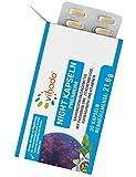 Vihado Night Kapseln Premium – für die Nacht mit Extrakten aus Ashwagandha (Schlafbeere), Passionsblume und B Vitamine – ohne Melatonin zum Einnehmen vor dem Schlaf – 30 Kapseln