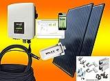 Solax 600Watt Balkonkraftwerk MIT MONTAGEMATERIAL FÜR ZIEGEL/PFANNENDACH/Solaranlage mit Internetüberwachung von bau-tech Solarenergie GmbH