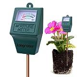 Feuchtigkeitsmessgerät Pflanzen, Bodentester, Hydrometer für Garten-, Bauernhof- und Rasenpflanzen (Bodenfeuchtesensor-Messgerät Tester LKP02)