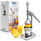 Saftpresse Fruchtpresse aus Edelstahl, Premium Orangenpresse, Entsafter für Obst, Zitruspresse, für Cocktailbar, Bar Zubehör