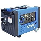 HYUNDAI Inverter-Generator HY4500SEi D (Inverter Stromerzeuger, tragbarer Benzin Generator mit 4.0 kW Maximalleistung, Notstromaggregat, Stromaggregat)