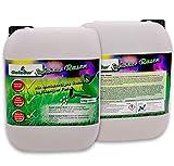 Galadur® Schöner Rasen Substrat in flüssiger Form 12kg/10l Rasenpflege Gartenpflege gegen Unkraut + Moos 3 Monate Langzeitwirkung