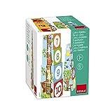 Jumbo Spiele - GOULA Stapelturm Wald, 10teilig Holzspielzeug für Kleinkinder, Ab 1 Jahr